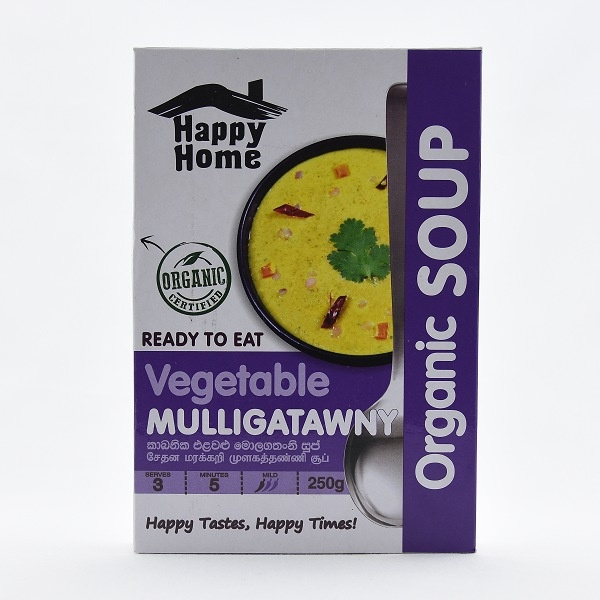 Happy Home Organic Mango & Mustard Soup 250g - in Sri Lanka