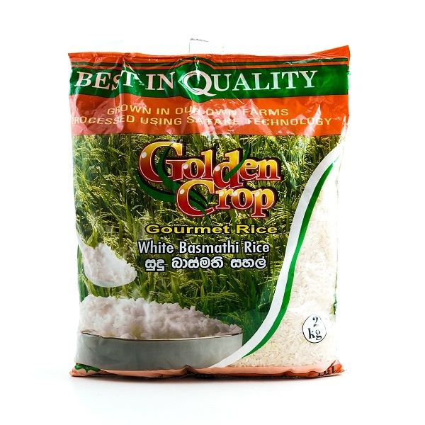 Cic Basmathi Rice White 2kg - in Sri Lanka