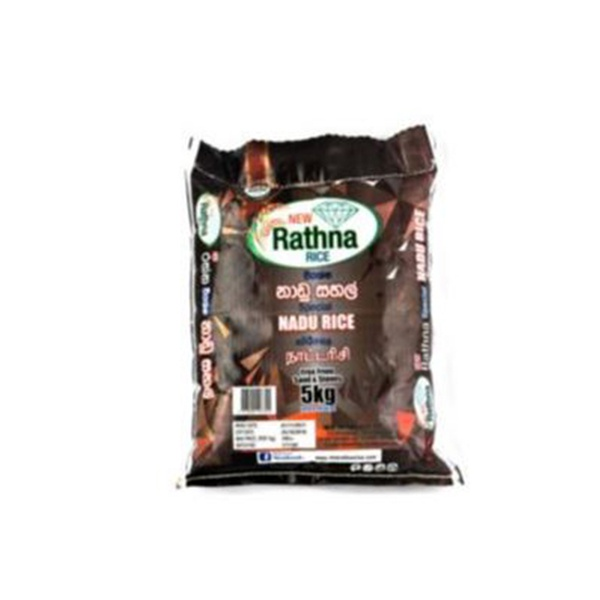New Rathna Rice White Nadu 5kg - in Sri Lanka