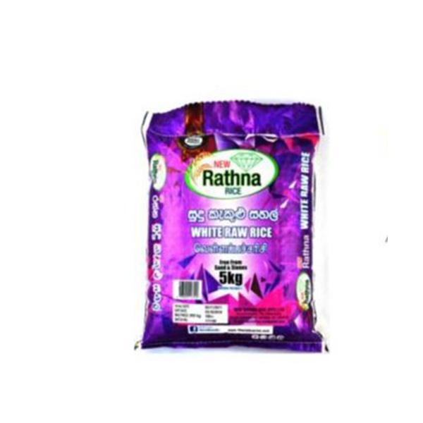 New Rathna Rice White Raw 10kg - in Sri Lanka