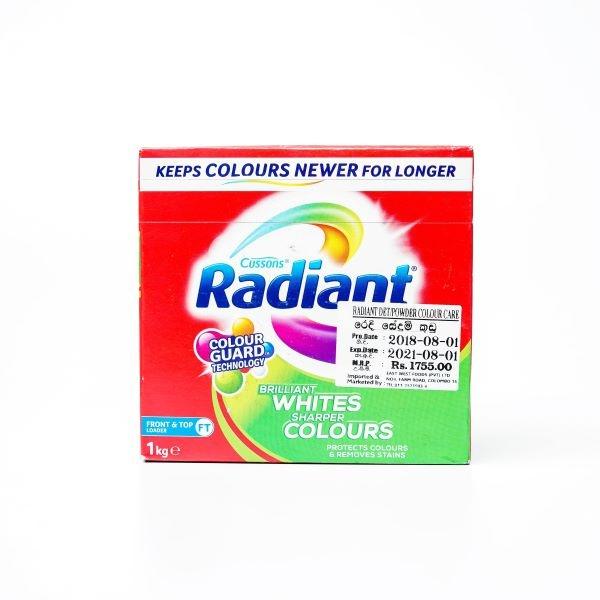 Radiant Detergent Powder Colour Care 1kg - in Sri Lanka