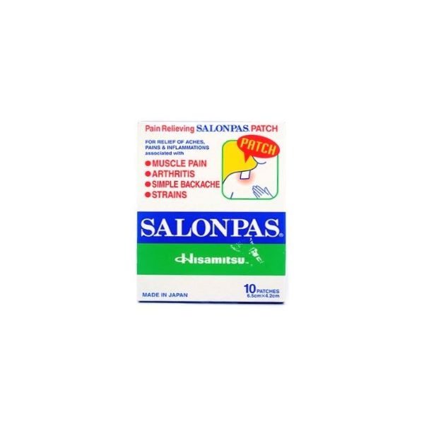 Salonpas Pain Relief Patch 20G - in Sri Lanka