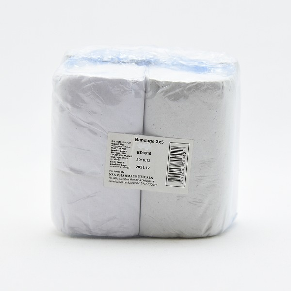 Nsk Surgical Bandage 4'S 3X5Yrds - in Sri Lanka