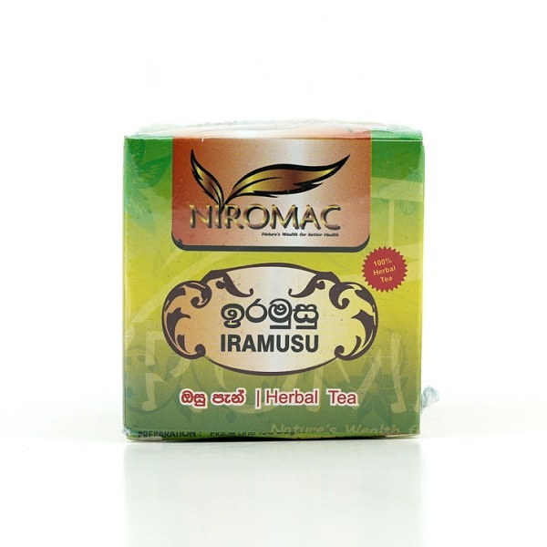 Niromac Iramusu Herb Tea Bag 15S 30G - in Sri Lanka