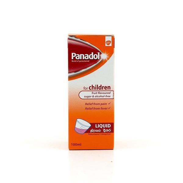 Panadol Pfc Liquid 100ml - in Sri Lanka