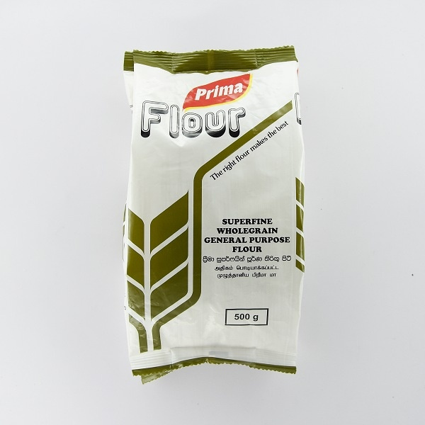 Prima Superfine Wholegrain General Purpose Flour 500g - in Sri Lanka