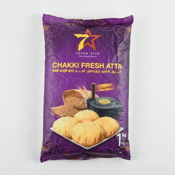 7 Star Chakki Fresh Atta 1Kg - in Sri Lanka