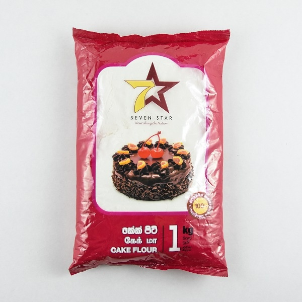 7 Star Cake Flour 1Kg - in Sri Lanka