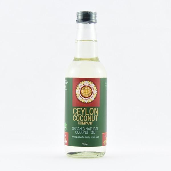Ceylon Coconut Company Organic Natural Coconut Oil 375ml - in Sri Lanka