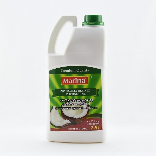 Marina Physically Refined Coconut Oil 2.9l - in Sri Lanka