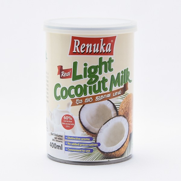 Renuka Coconut Milk Can Light 400Ml - in Sri Lanka