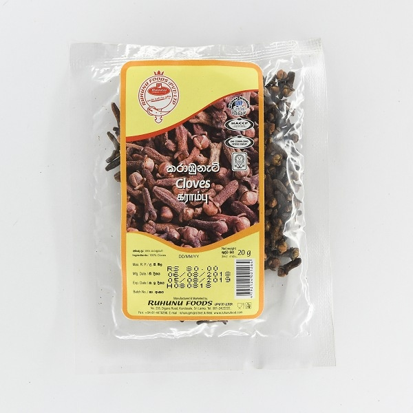Ruhunu Cloves 20G - in Sri Lanka