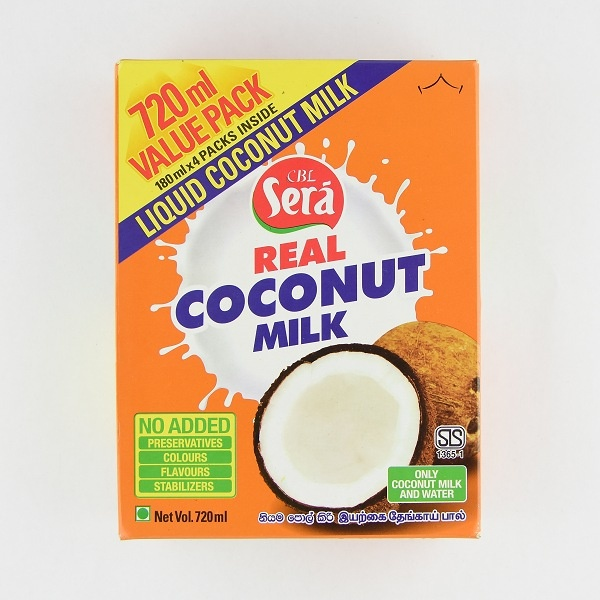 Sera Coconut Milk 720Ml - in Sri Lanka