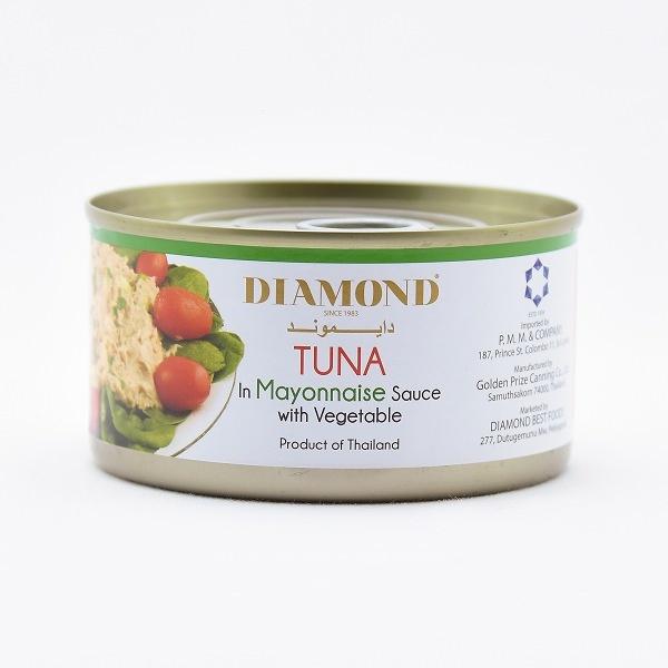 Diamond Tuna Mayonnise 185G - DIAMOND - Preserved / Processed Fish - in Sri Lanka