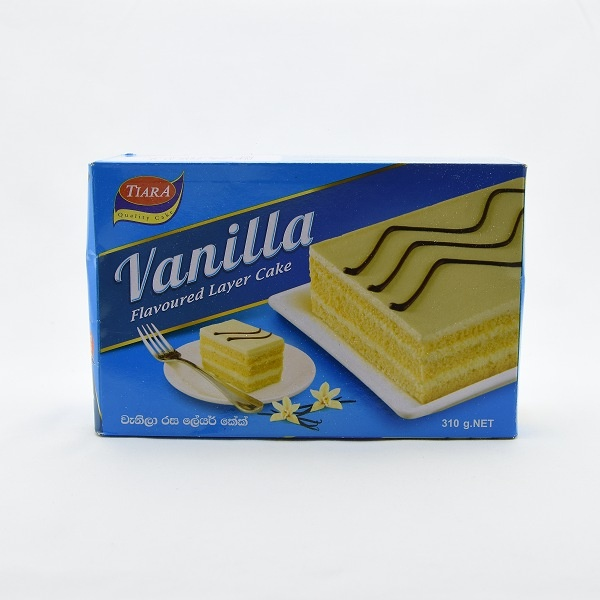 Tiara Layer Cake Vanilla 310G - TIARA - Confectionary - in Sri Lanka