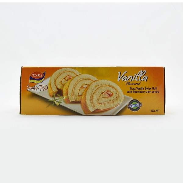 Tiara Swiss Roll Vanilla 200G - in Sri Lanka