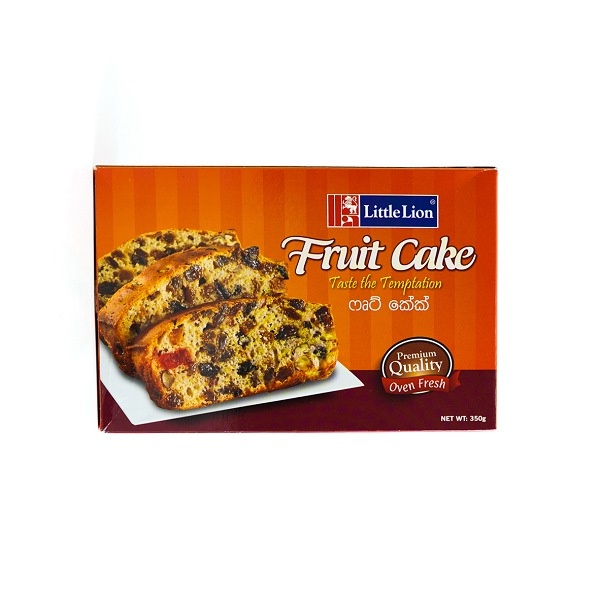 Little Lion Fruit Cake 350G - in Sri Lanka