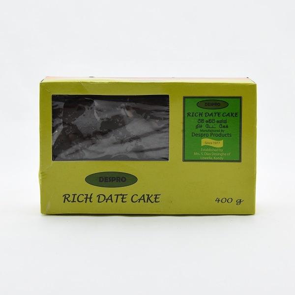 Despro Rich Date Cake 400G - in Sri Lanka