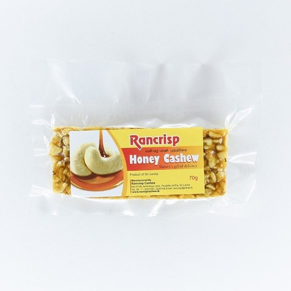 Rancrisp Honey Cashew 70G - in Sri Lanka