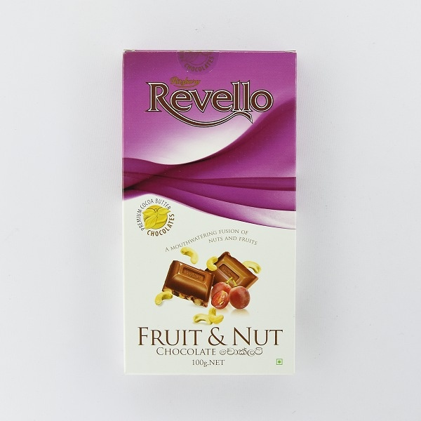 Ritzbury Revello Chocolate Fruit & Nut 100g - in Sri Lanka