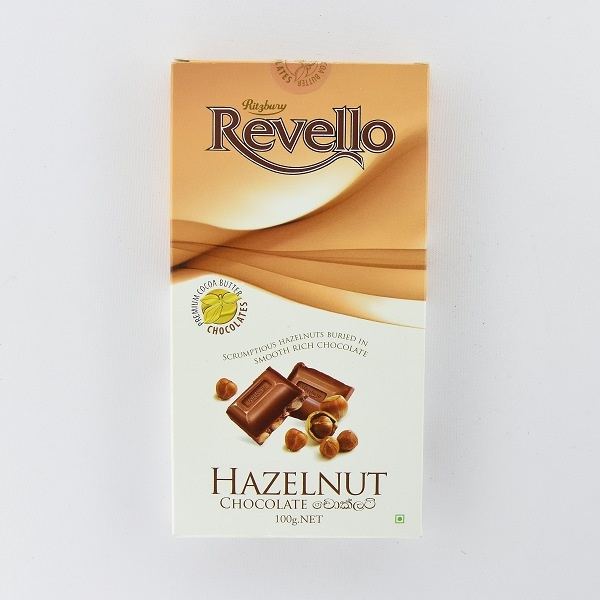 Ritzbury Revello Chocolate Hazelnut 100g - in Sri Lanka