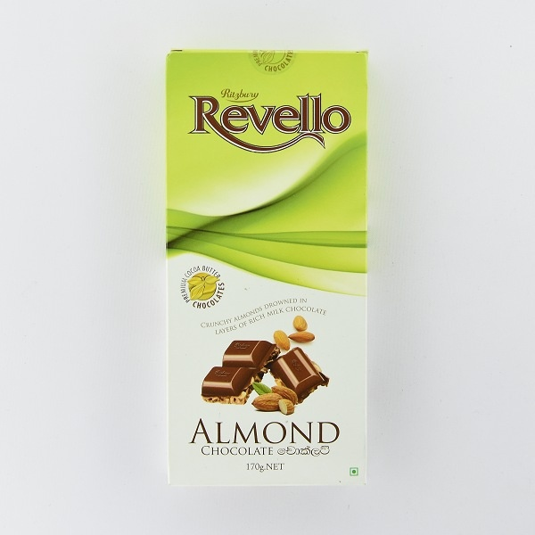 Ritzbury Revello Chocolate Almond 170g - in Sri Lanka