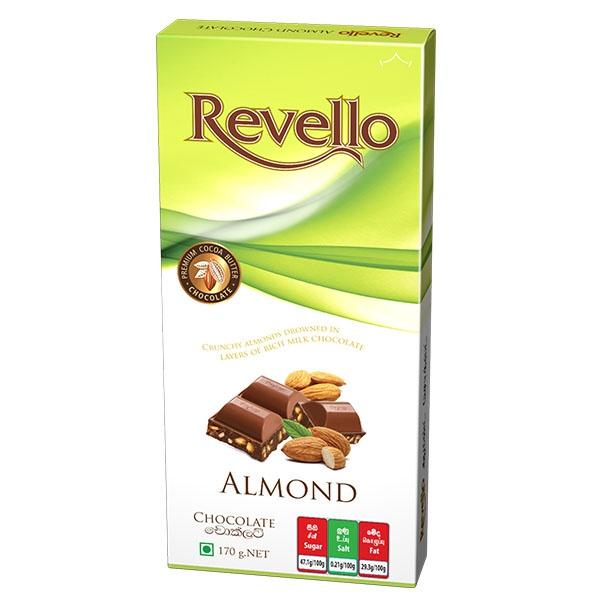 Ritzbury Revello Chocolate Almond 170g - in Sri Lanka