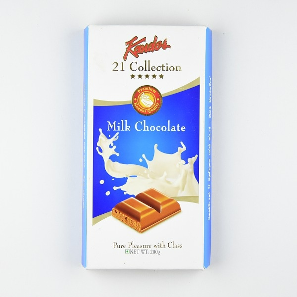 Kandos Chocolate 21' Collection Five Star Milk 200g - in Sri Lanka