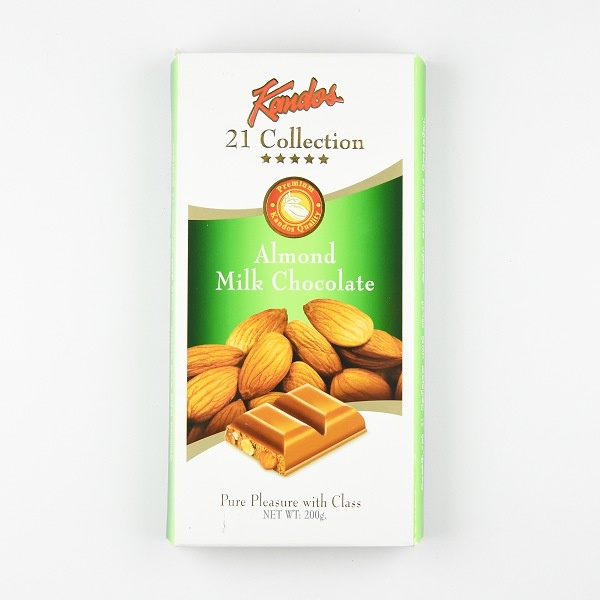 Kandos Chocolate 21' Collection Five Star Almond 200g - in Sri Lanka
