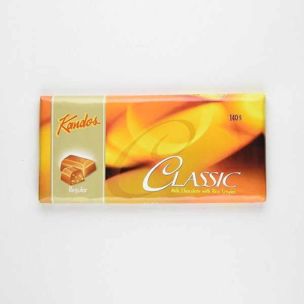 Kandos Chocolate Classic Regular 140g - in Sri Lanka