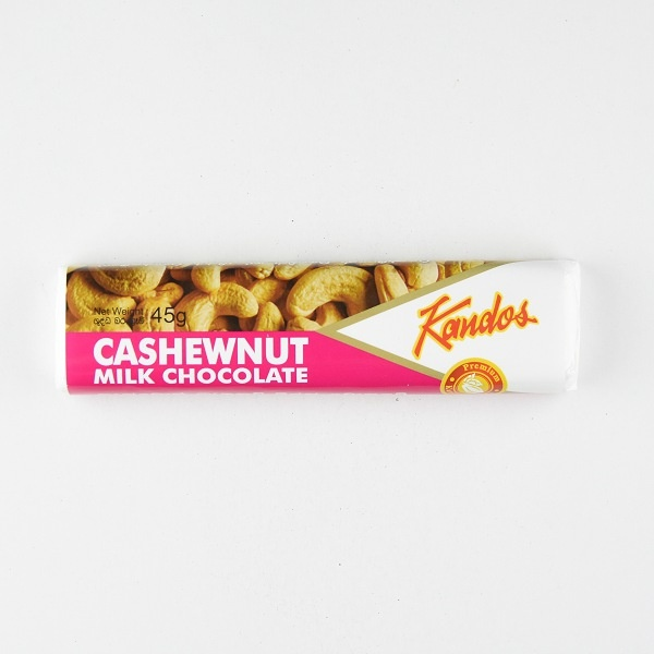 Kandos Chocolate Bar Cashewnut 45g - in Sri Lanka