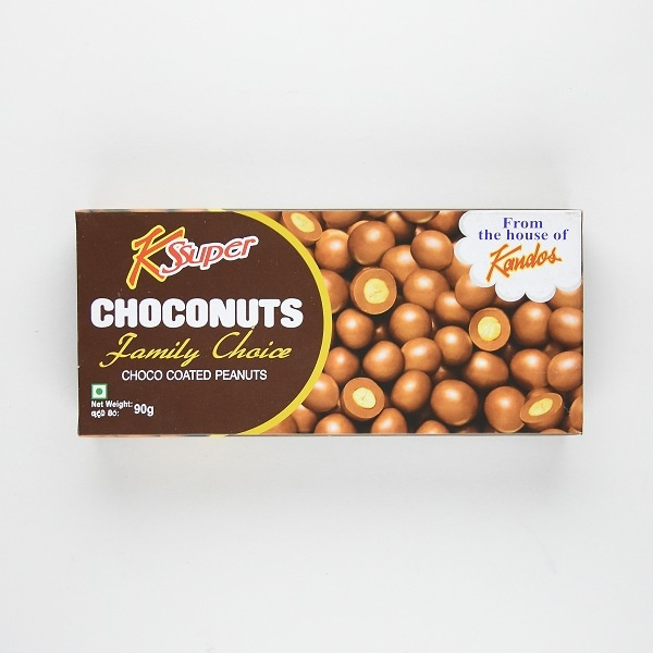Kandos Chocolate Choconuts 90g - in Sri Lanka