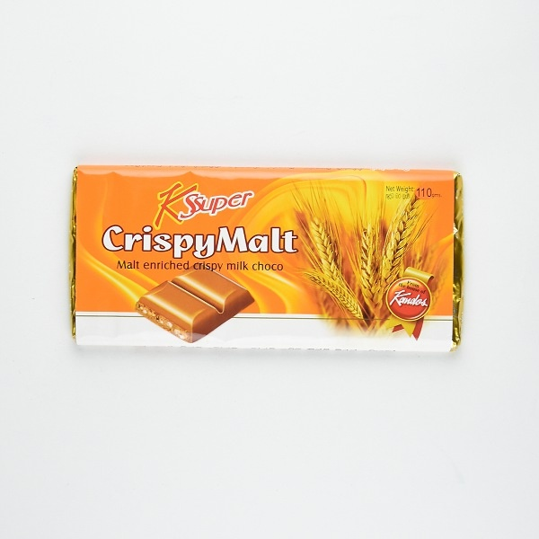 Kandos Chocolate Ksuper Cripy Malt 110g - in Sri Lanka