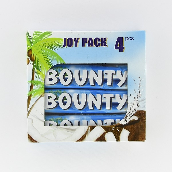 Bounty Chocoalte Joy Pack 4x58g - BOUNTY - Confectionary - in Sri Lanka