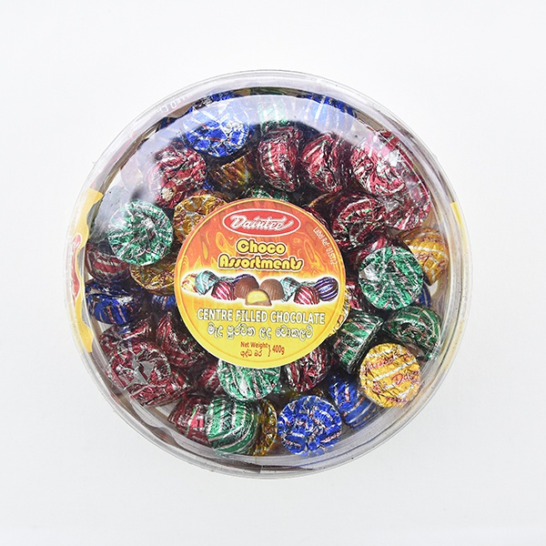Daintee Chocolate Assortment Container 400g - in Sri Lanka
