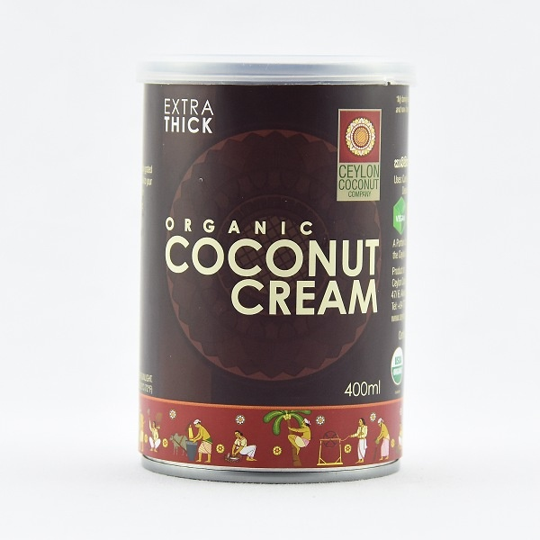 Ceylon Coconut Company Organic Coconut Cream 400ml - in Sri Lanka