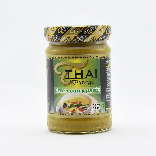 Thai Heritage Green Curry Paste 220ml - in Sri Lanka