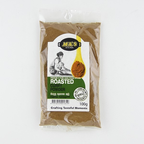 Ma'S Roasted Curry Powder 100G - in Sri Lanka