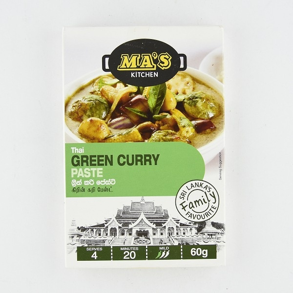 Ma'S Thai Green Curry Paste 60G - in Sri Lanka