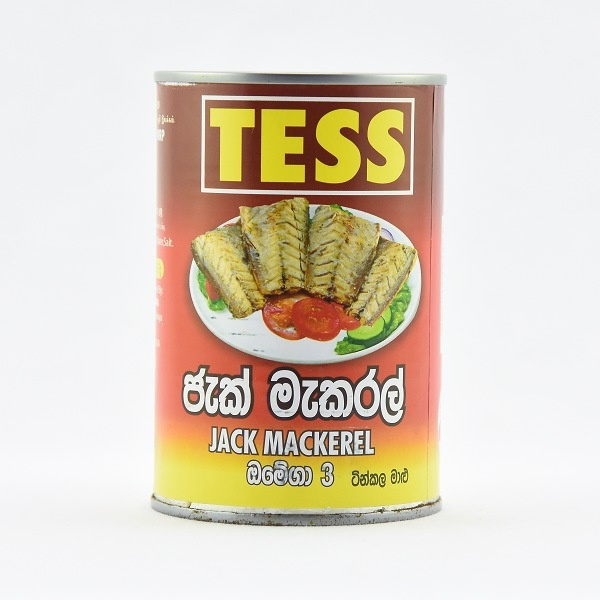 Tess Jack Mackerel 425G - TESS - Preserved / Processed Fish - in Sri Lanka