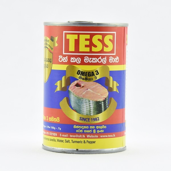 Tess Blue Mackerel 425G - in Sri Lanka