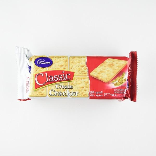 Diana Classic Cream Cracker 190G - DIANA - Biscuits - in Sri Lanka