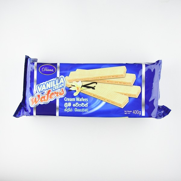 Diana Wafer Vanilla 400G - DIANA - Biscuits - in Sri Lanka