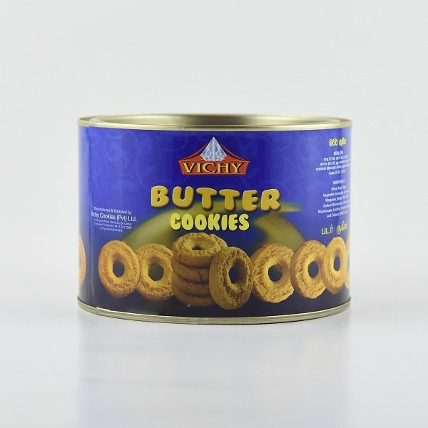 Vichy Biscuit Butter Cookies Tin 240g - VICHY - Biscuits - in Sri Lanka