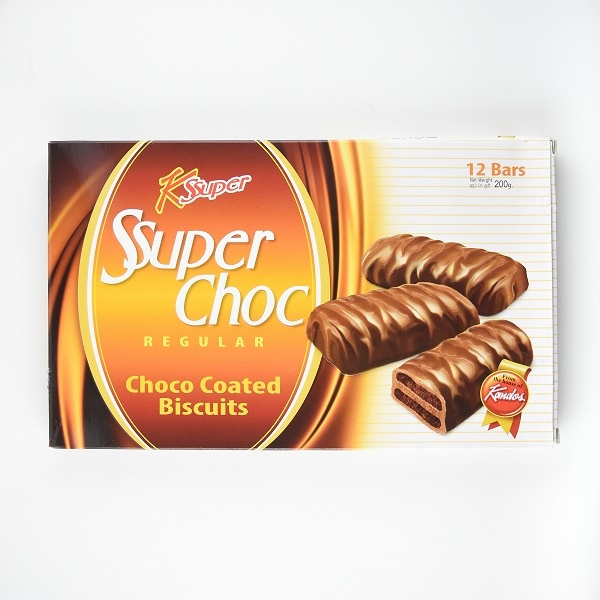 Kandos Biscuit Super Choco Coated 200g - in Sri Lanka