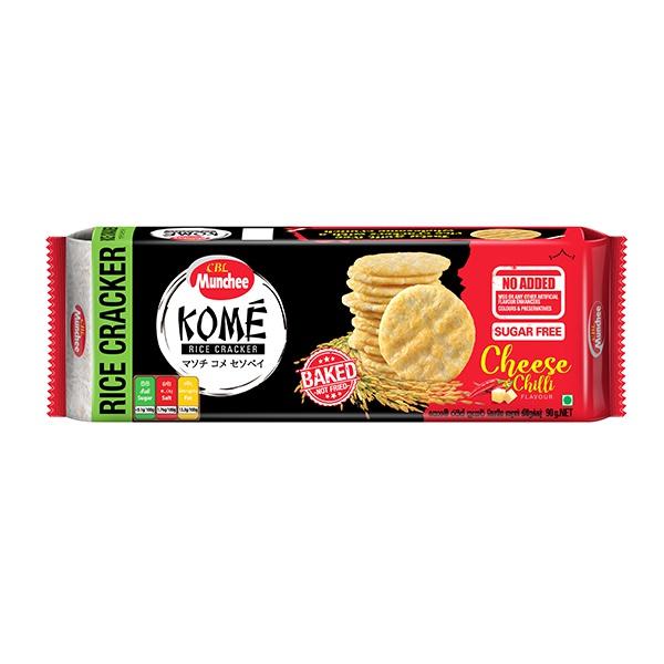 Munchee Biscuit Kome Cheese & Chilli 100g - in Sri Lanka