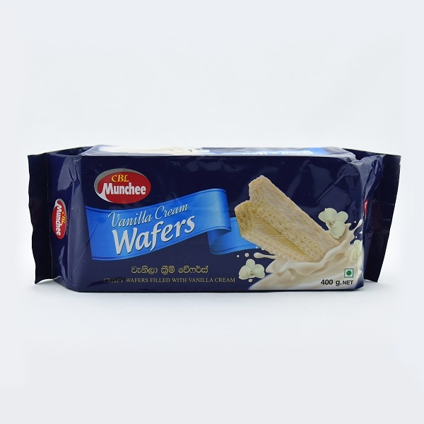 Munchee Wafer Vanilla 400G - in Sri Lanka