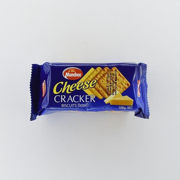 Munchee Biscuit Cheese Cracker 100g - in Sri Lanka