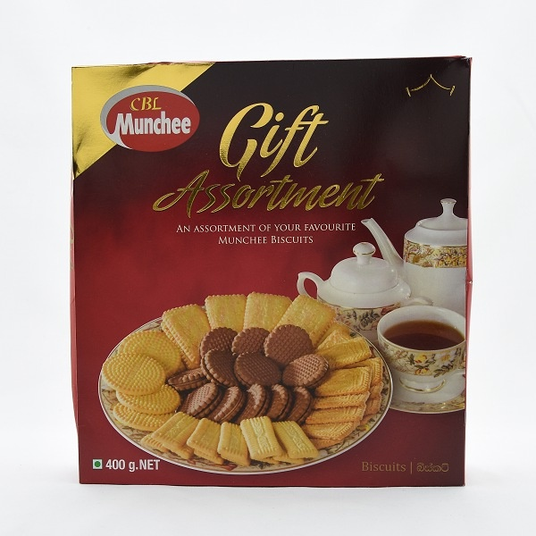 Munchee Biscuit Gift Assorted 400g - in Sri Lanka