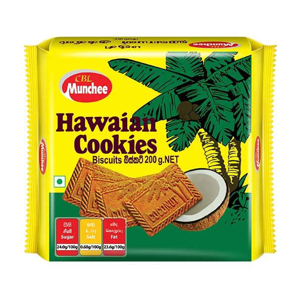 Munchee Biscuit Hawaian Cookies 200g - in Sri Lanka